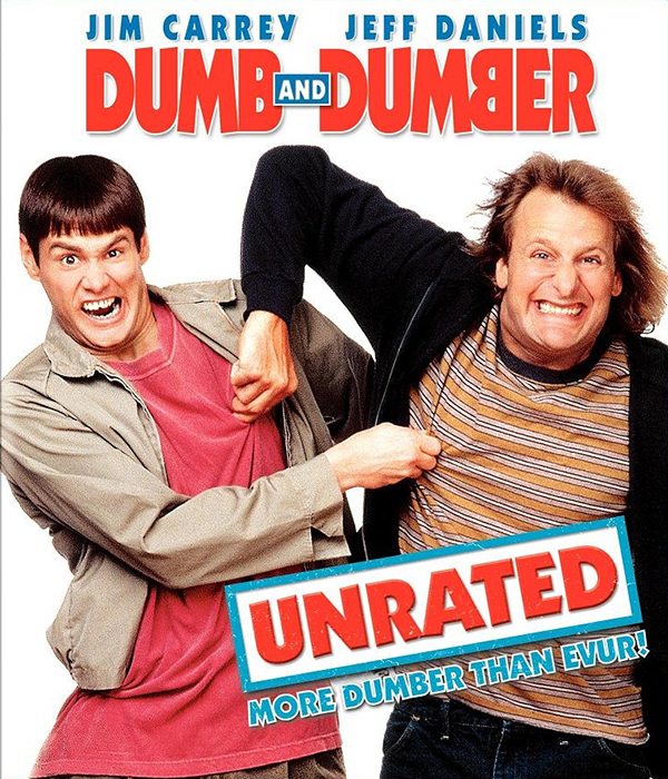 Dumb and Dumber Blu-ray Cover