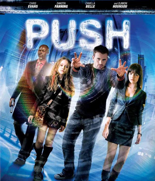 Push Blu-ray Cover