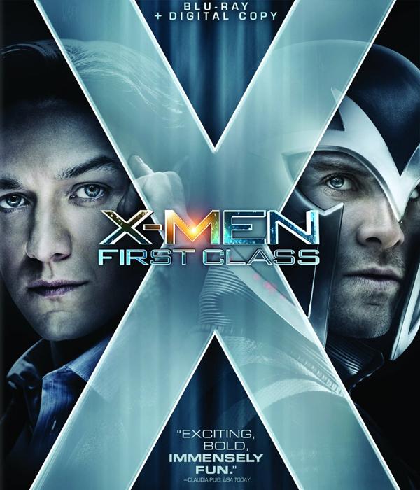 X-men: First Class Blu-ray Cover