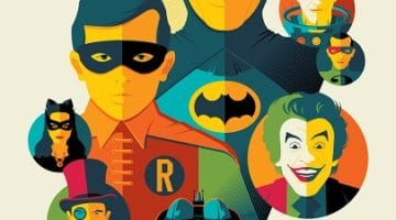 Batman Classic TV Series Prints by Tom Whalen