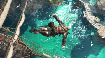 Assassins Creed Pirate Diving