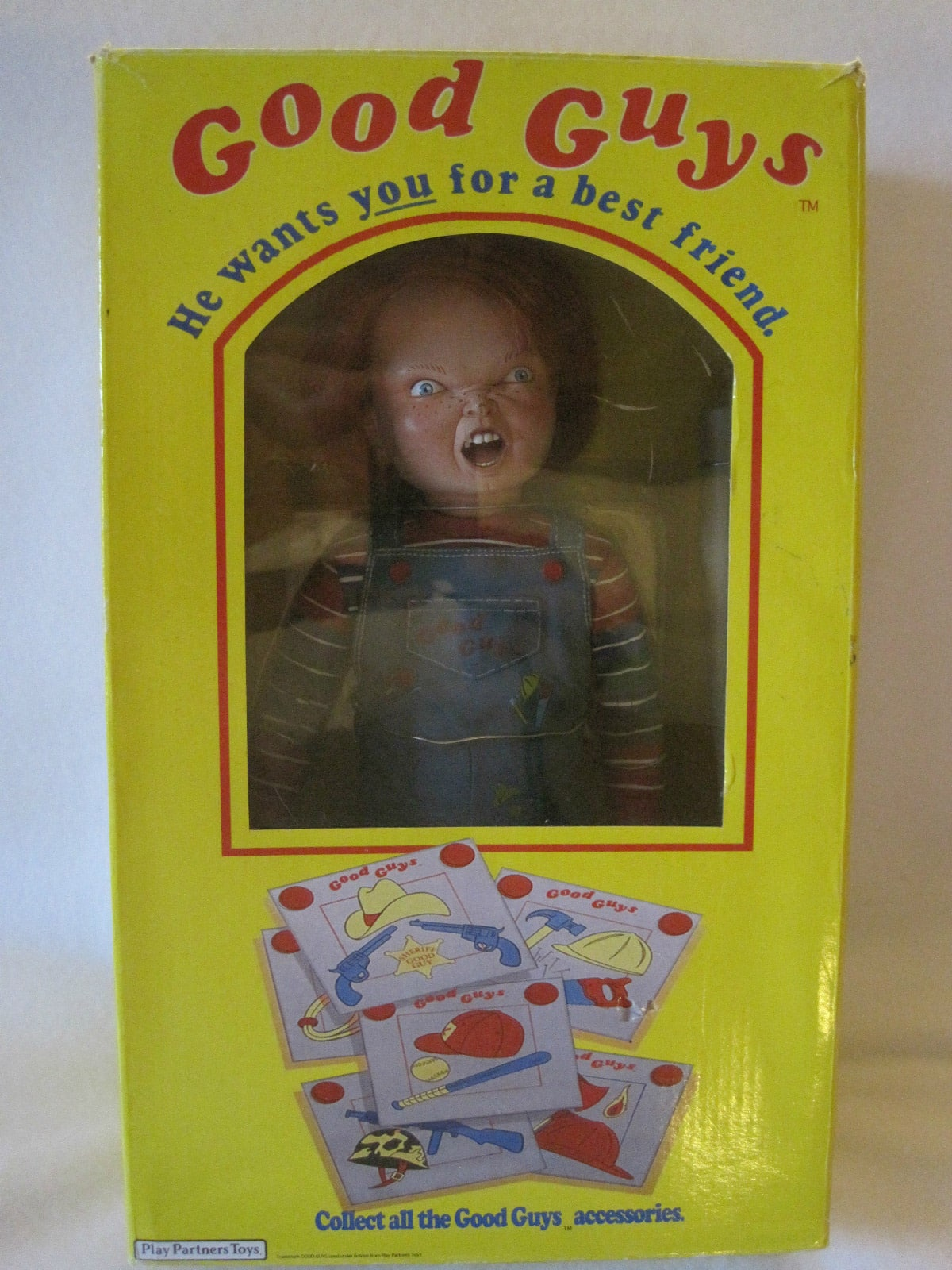 Real Chucky Doll Box Front