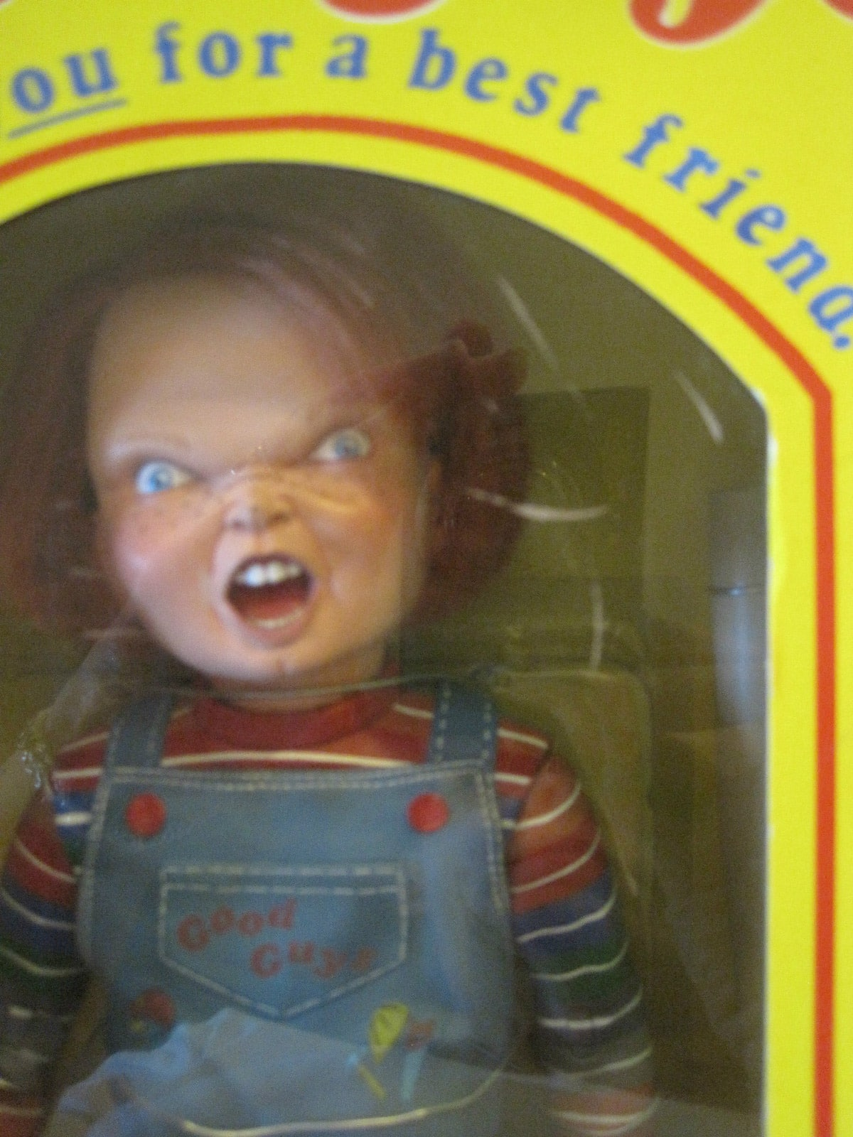 Real Chucky Doll Close Up