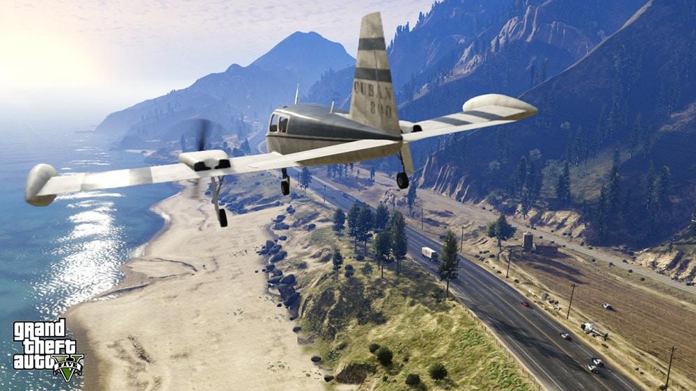 GTA 5 Plane Landing