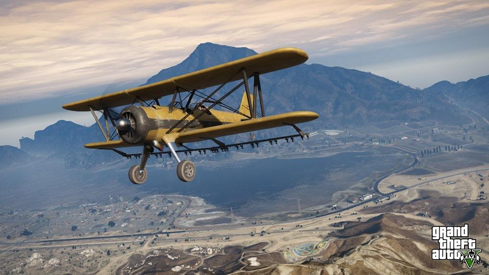 GTA 5 Old Plane