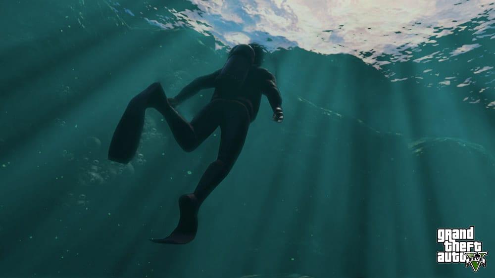 GTA 5 Under Water