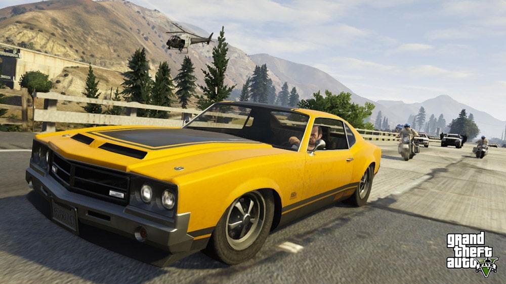 GTA 5 Driving Fast