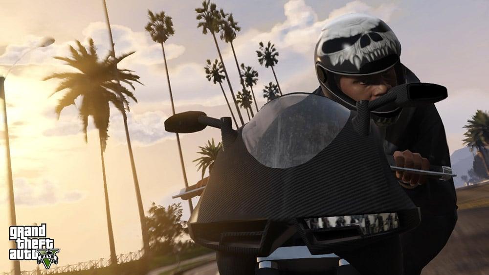 GTA 5 Sports Bike