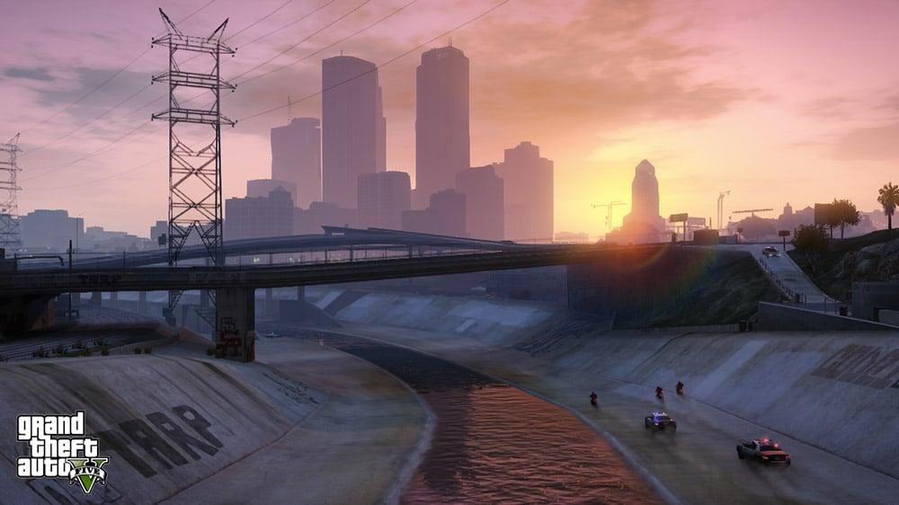 GTA 5 Cityscape