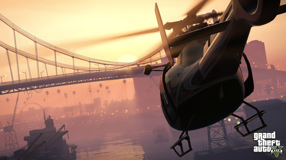 GTA 5 Chopper Chase