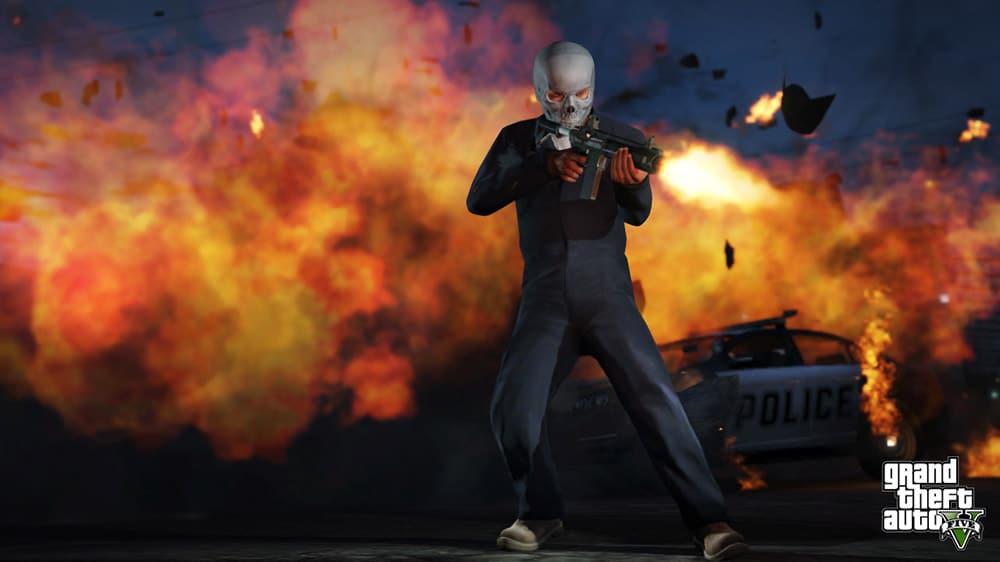 GTA 5 Explosion