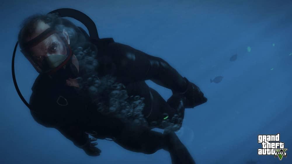 GTA 5 Scuba Diving