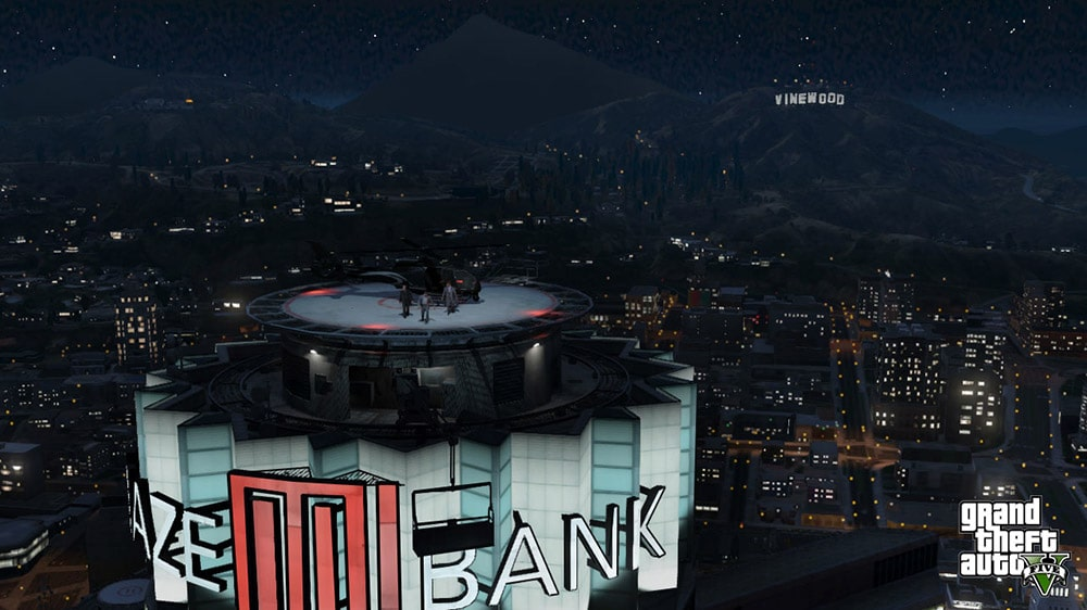 Grand Theft Auto 5 Bank Screenshot