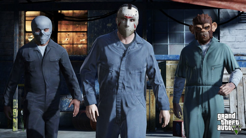Grand Theft Auto 5 Robbery Screenshot