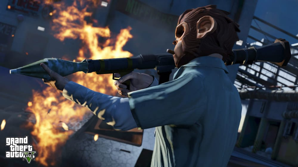 Grand Theft Auto 5 Mask Screenshot