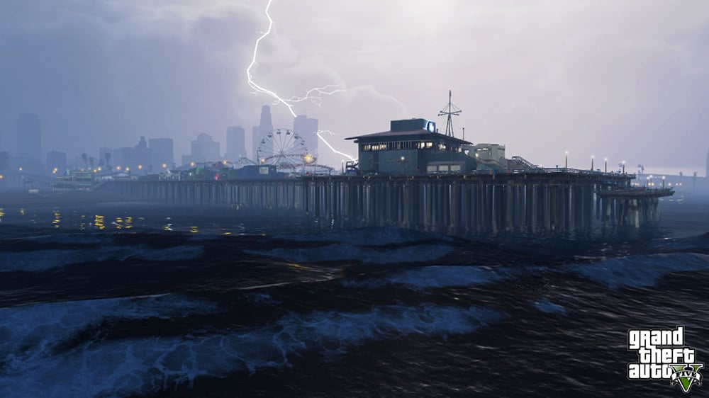 Grand Theft Auto 5 Sky Prison Screenshot