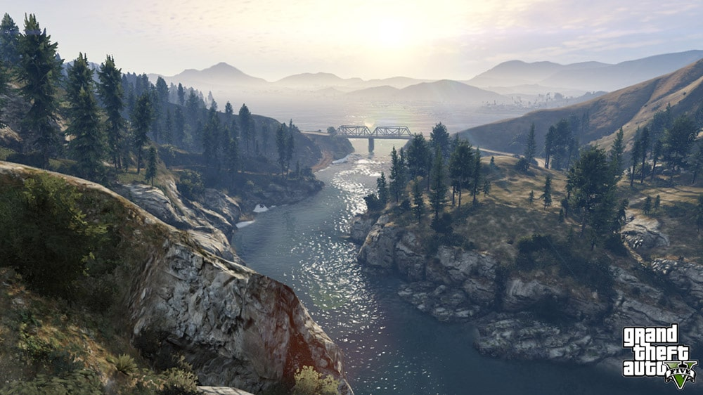 Grand Theft Auto 5 Mountains Screenshot