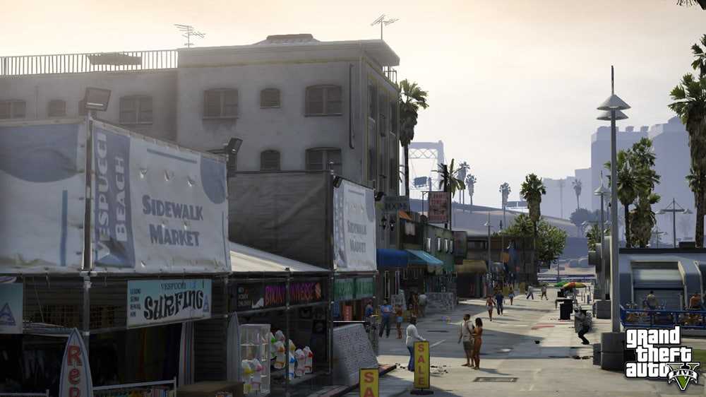 Grand Theft Auto 5 Boardwalk Screenshot