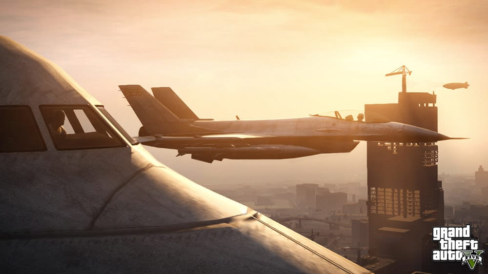 Grand Theft Auto 5 Jets Screenshot