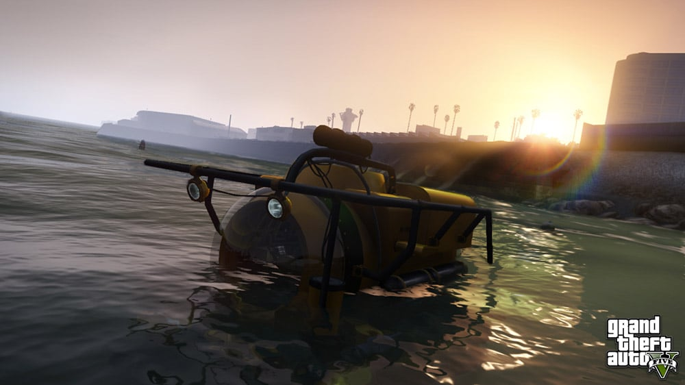Grand Theft Auto 5 Sub Screenshot