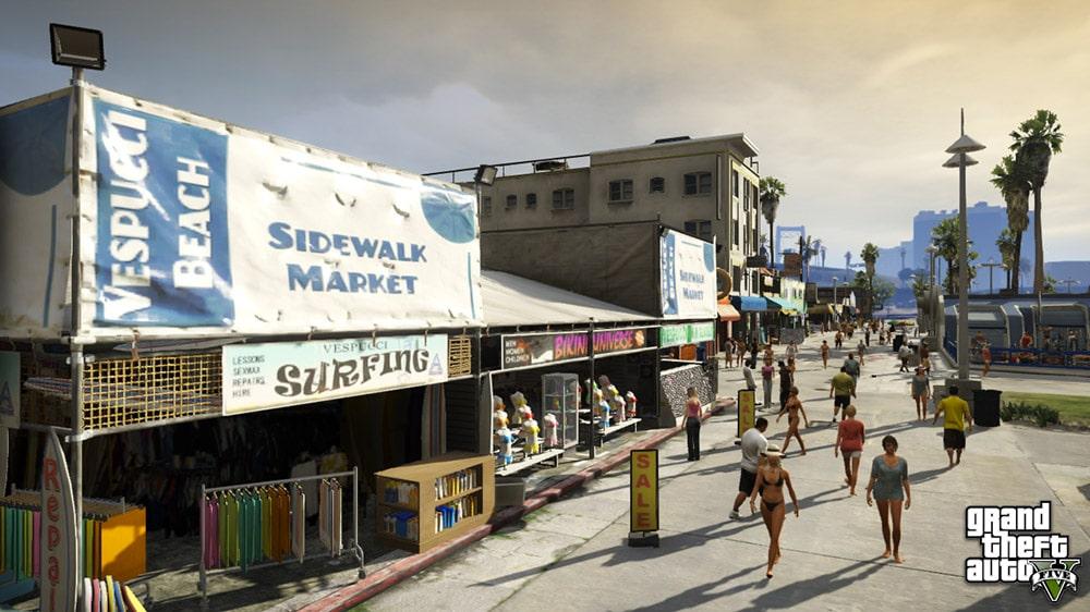 GTA 5 Beach Front
