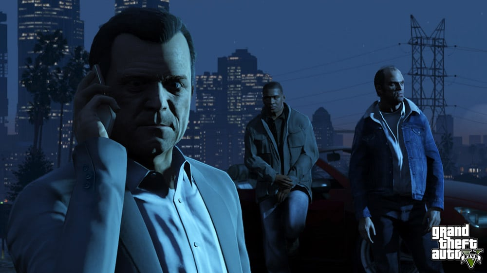 Grand Theft Auto 5 Characters Screenshot