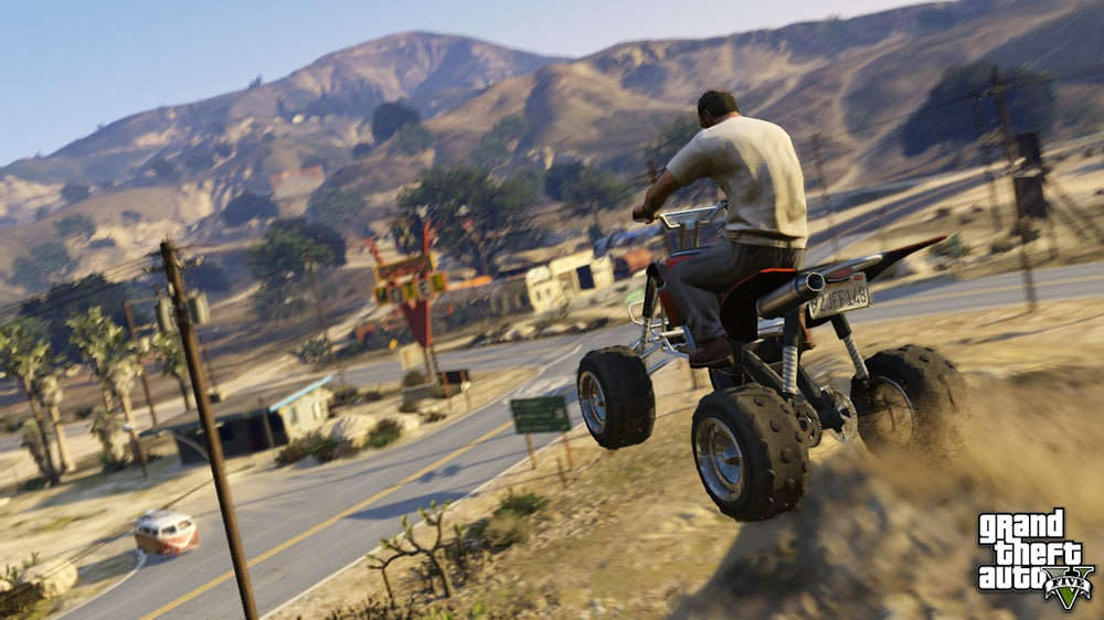 Grand Theft Auto 5 ATV Screenshot
