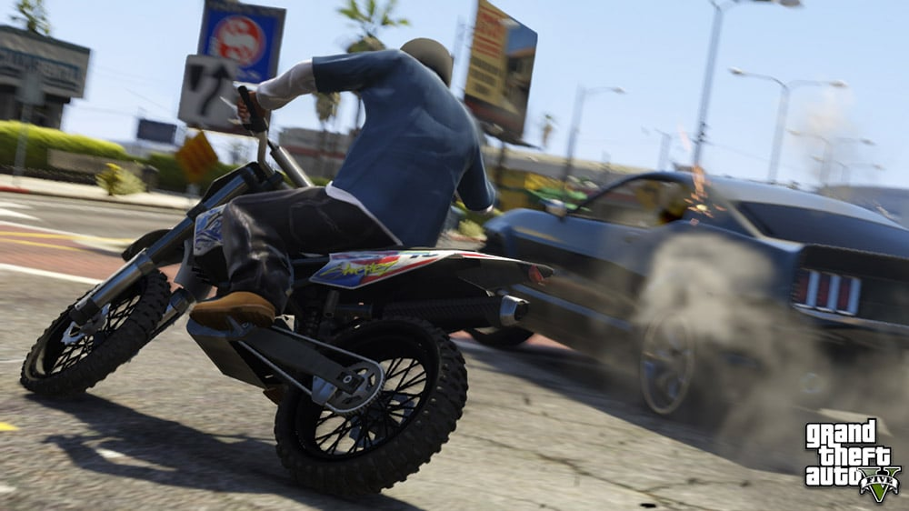Grand Theft Auto 5 Driving Screenshot