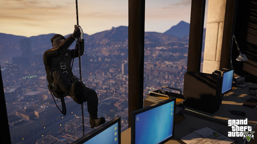 Grand Theft Auto 5 Thief Screenshot