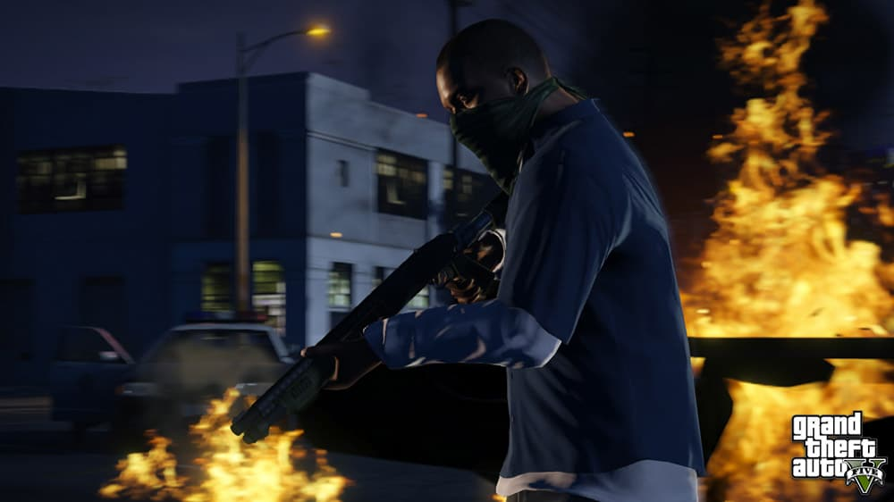 GTA 5 Gunned Down