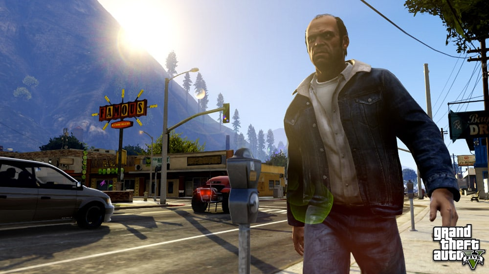 Grand Theft Auto 5 Street Screenshot