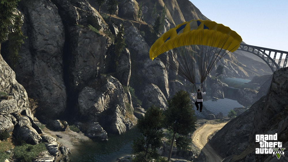 Grand Theft Auto 5 Flying Screenshot