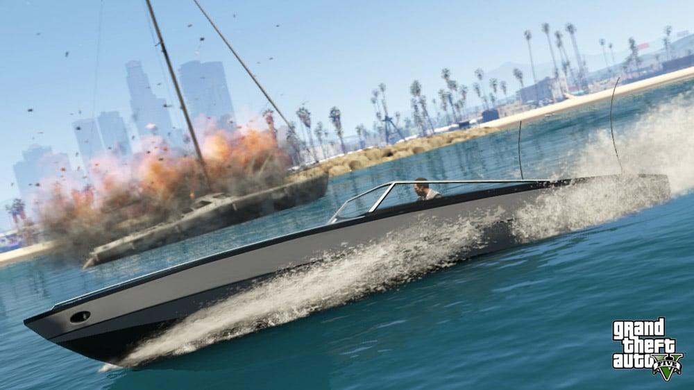 GTA 5 Boat