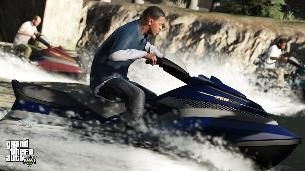 GTA 5 Jetski