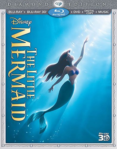 The Little Mermaid 3D Blu-ray Cover