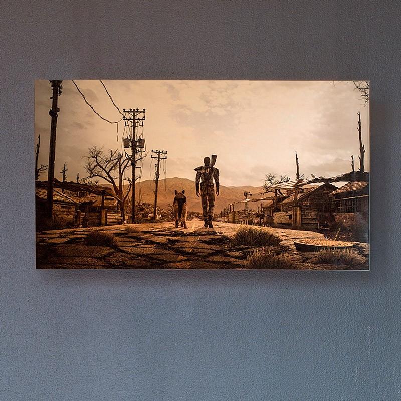 Fallout Metal Print 6