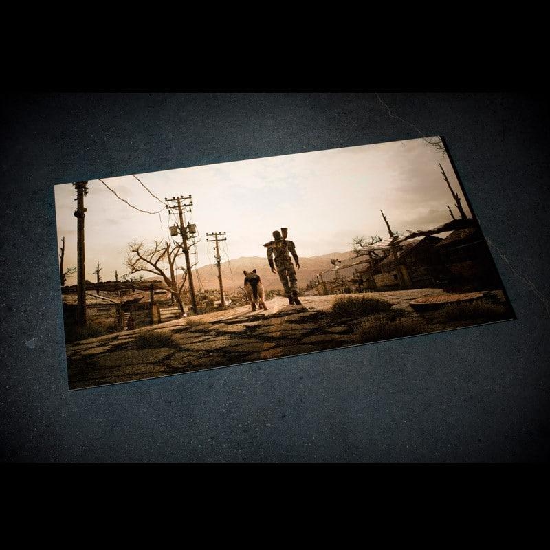 Fallout Metal Print 1