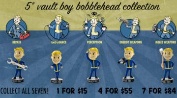 Fallout Limited Vault Boy Bobble Heads