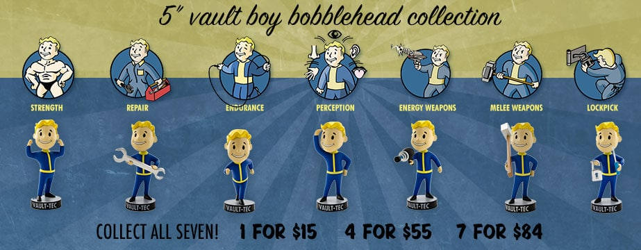 Fallout Limite Boobbleheads