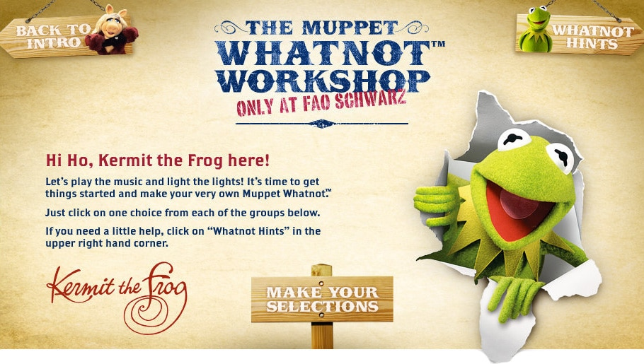 Make Your Own Muppet Whatnot