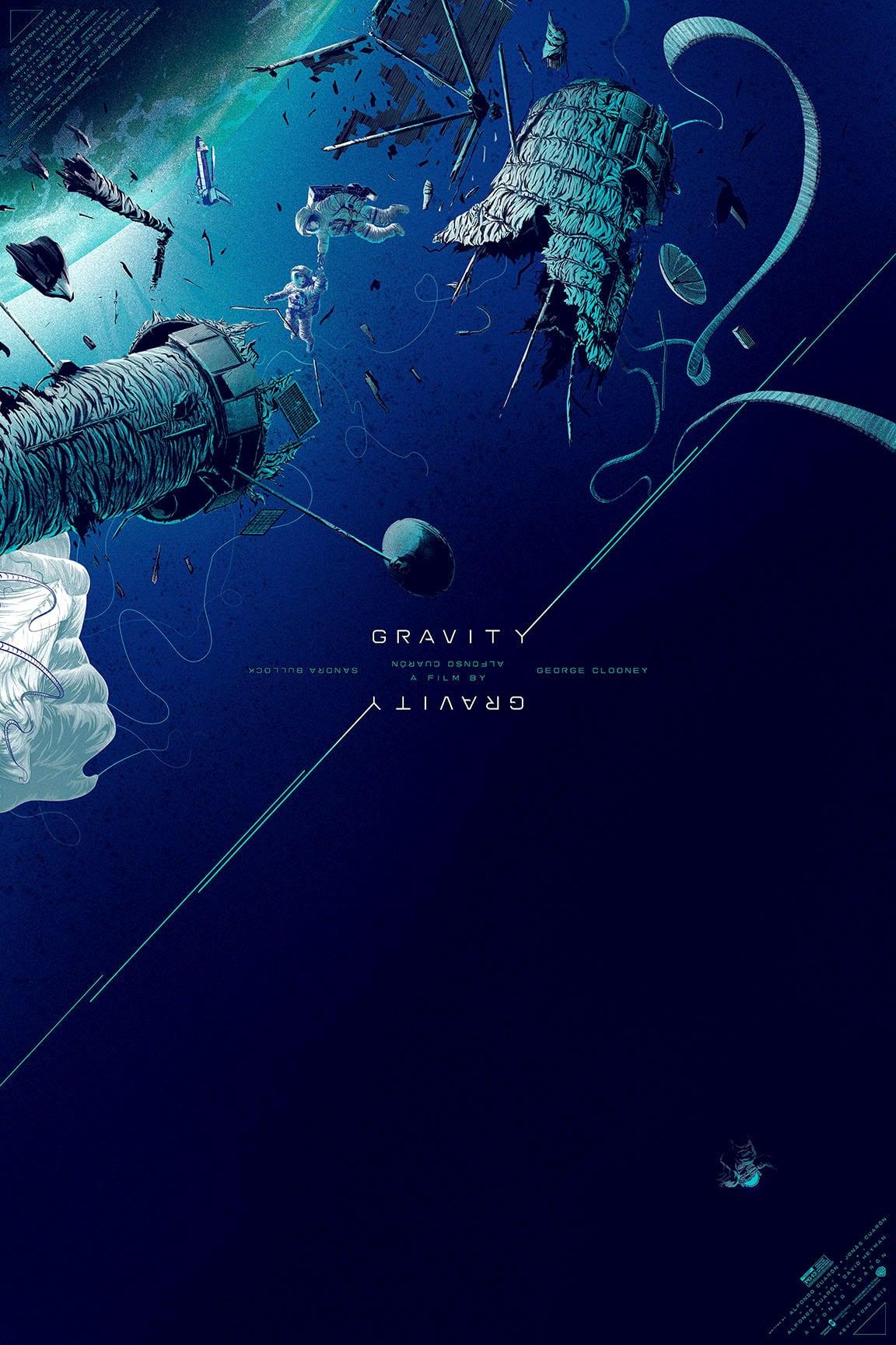 Gravity Movie Poster Print