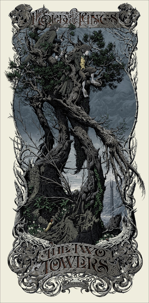 Two Towers by Aaron Horkey