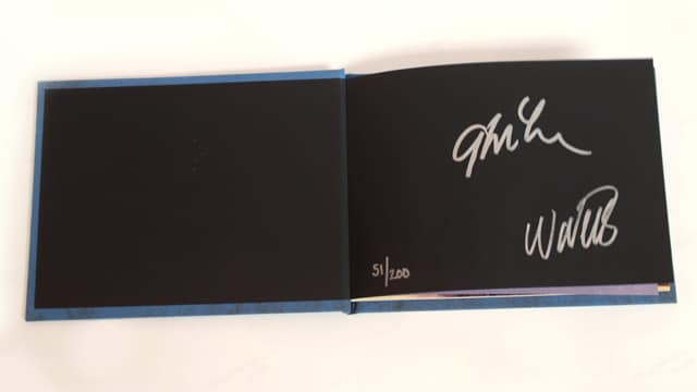 BioShock Infinite Signed Art Book Signatures