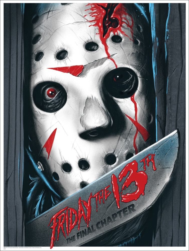 Mondo Friday the 13th Poster Print