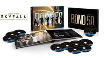 Bond 50: 23 James Bond Film Collection with Skyfall