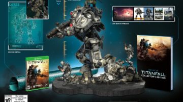 Titanfall Collector's Edition with Statue