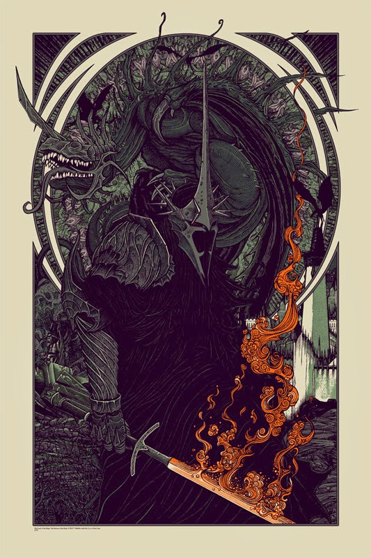 Witch King Fell Beast Mondo Poster