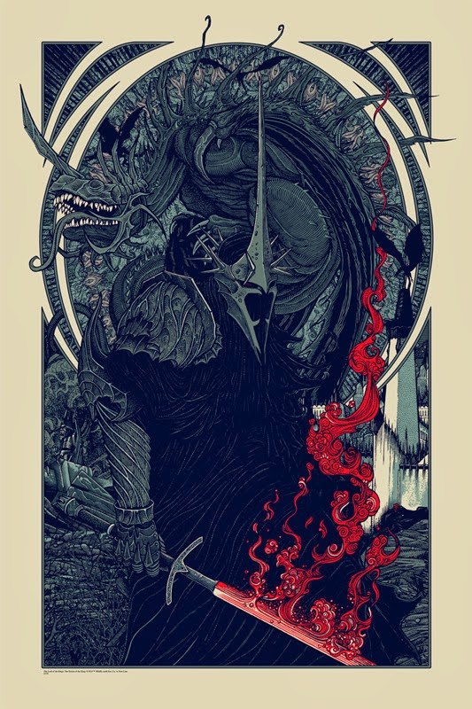 Witch King Fell Beast Variant Poster