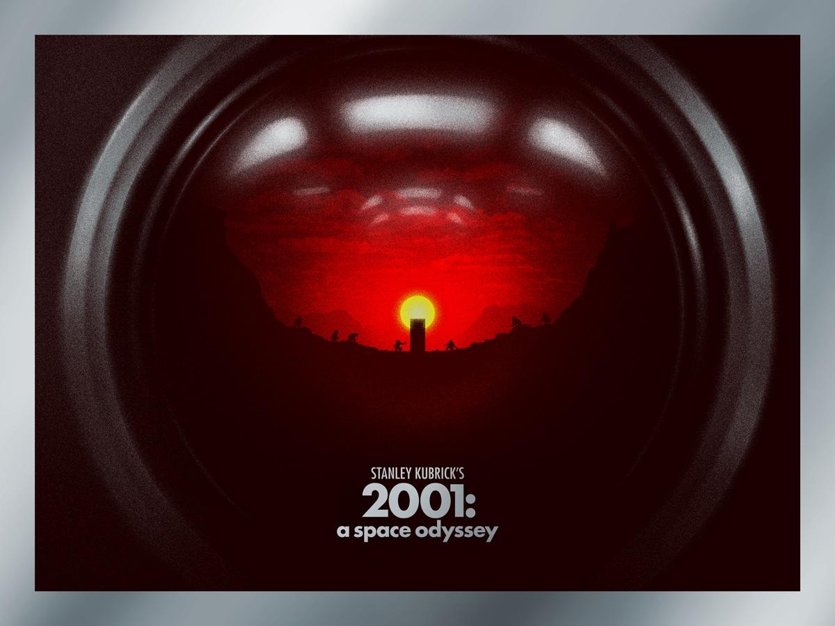 2001 MoviePoster Print