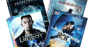 Amazon 70% Off 3D Blu-rays Sale